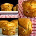 Muffins pomme fraise