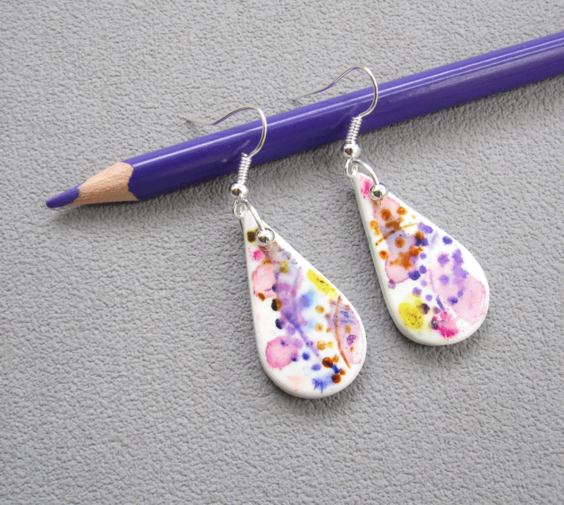 Boucles aquarelle