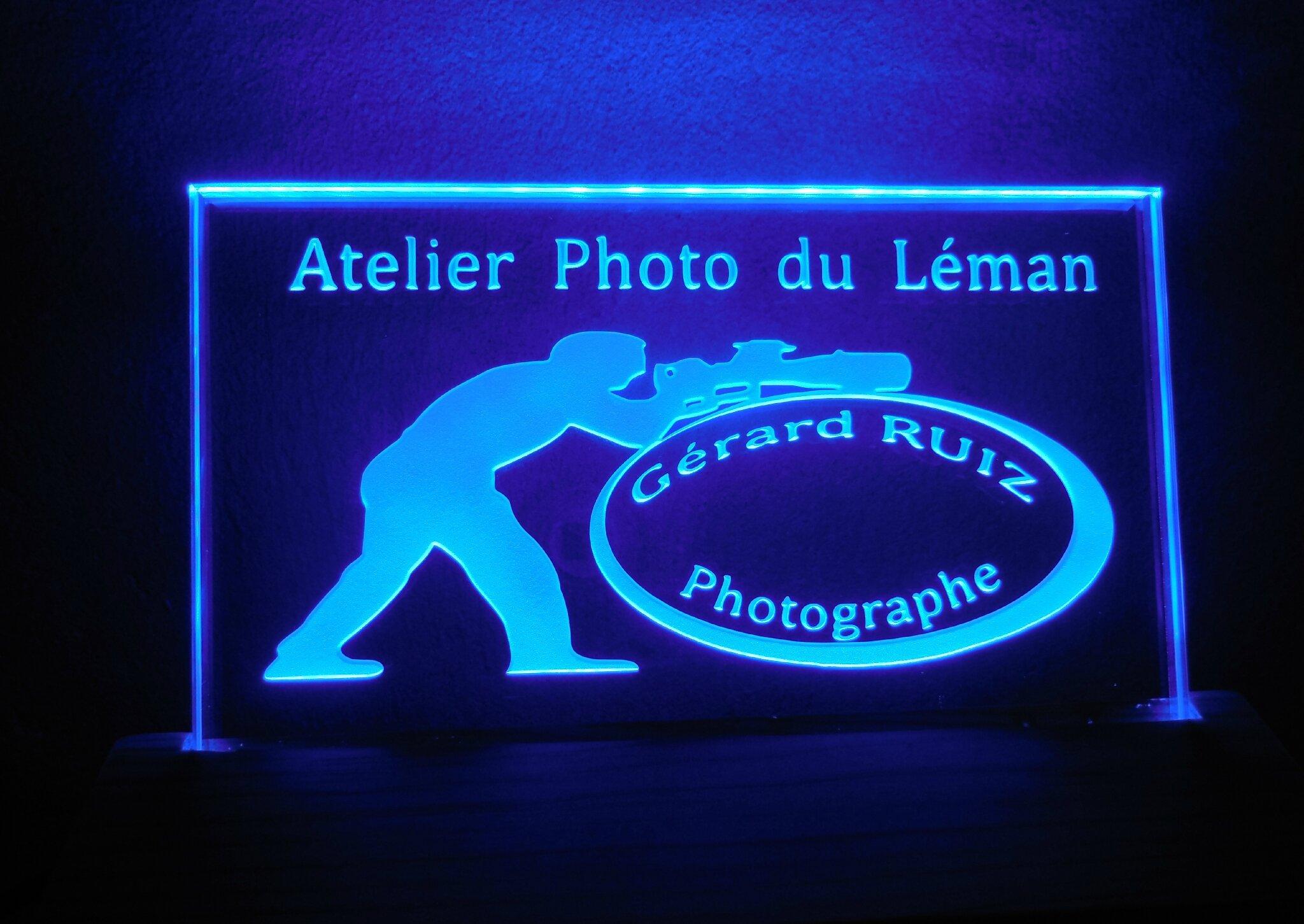 Lampe Atelier Photo du Léman