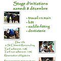Stage d'initiations samedi 8 décembre