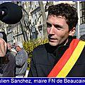 Intervention de julien sanchez, maire fn de beaucaire (gard) lors de la réunion d'information des maires de france