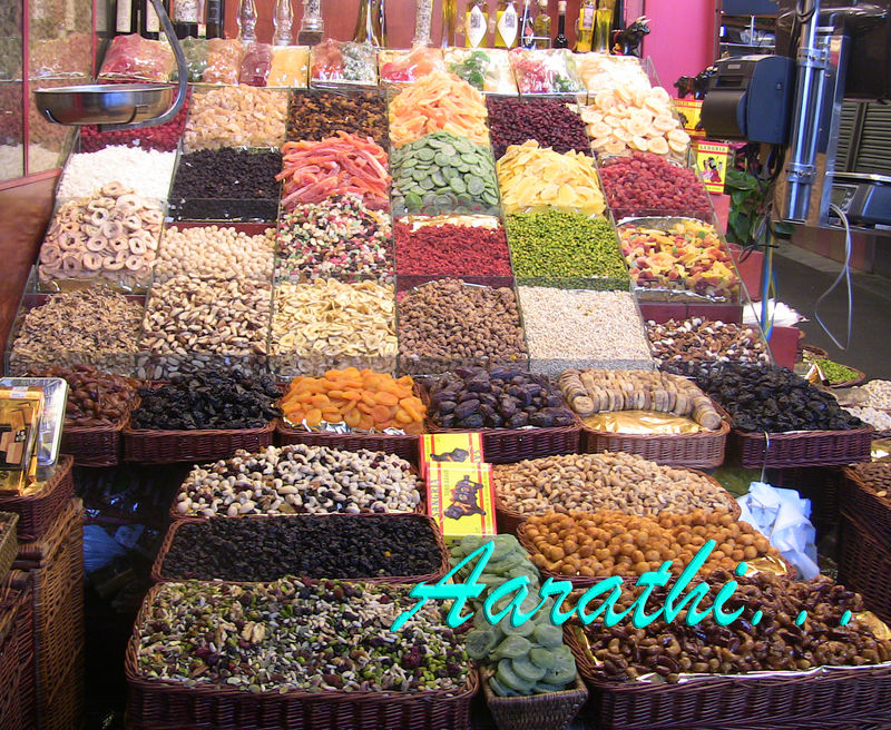 Dried Fruits Stall