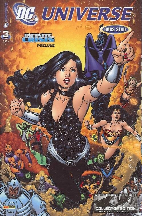 panini dc universe hs 03 donna troy