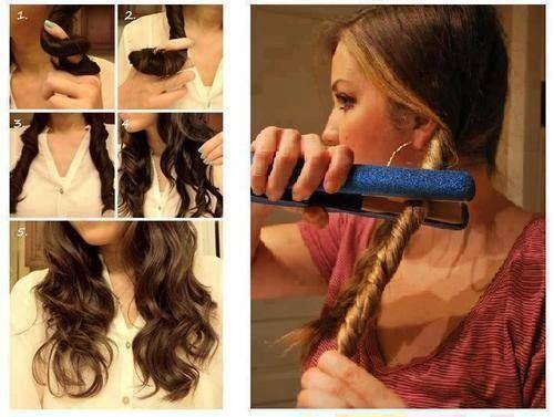 Connu Comment voir les cheveux bouclé avec un lisseur . - The Fashion Wings MZ28