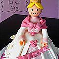 Gateau princesse playmobil