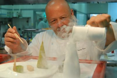 II Réalisations à Partir Dadditifs Alimentaires Cuisine - Restaurant cuisine moleculaire