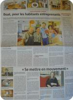 Quartier Drouot - Pleine page journal L'Alsace