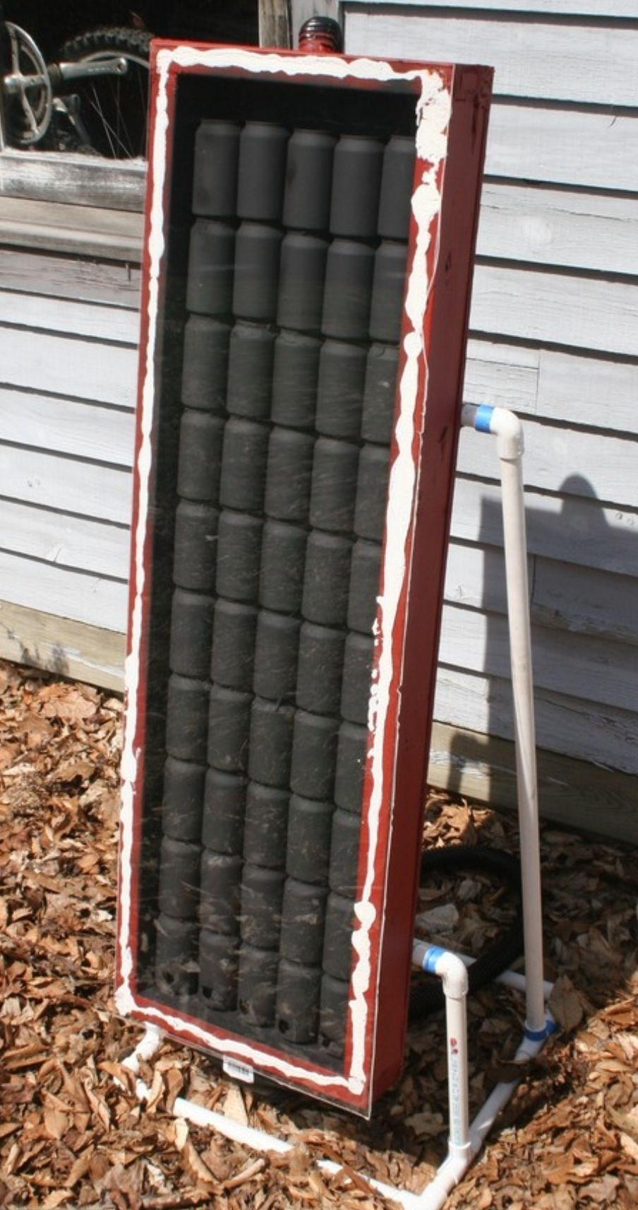 fabriquer vous m me votre chauffage solaire pour serre ou garage inspirations jardins. Black Bedroom Furniture Sets. Home Design Ideas