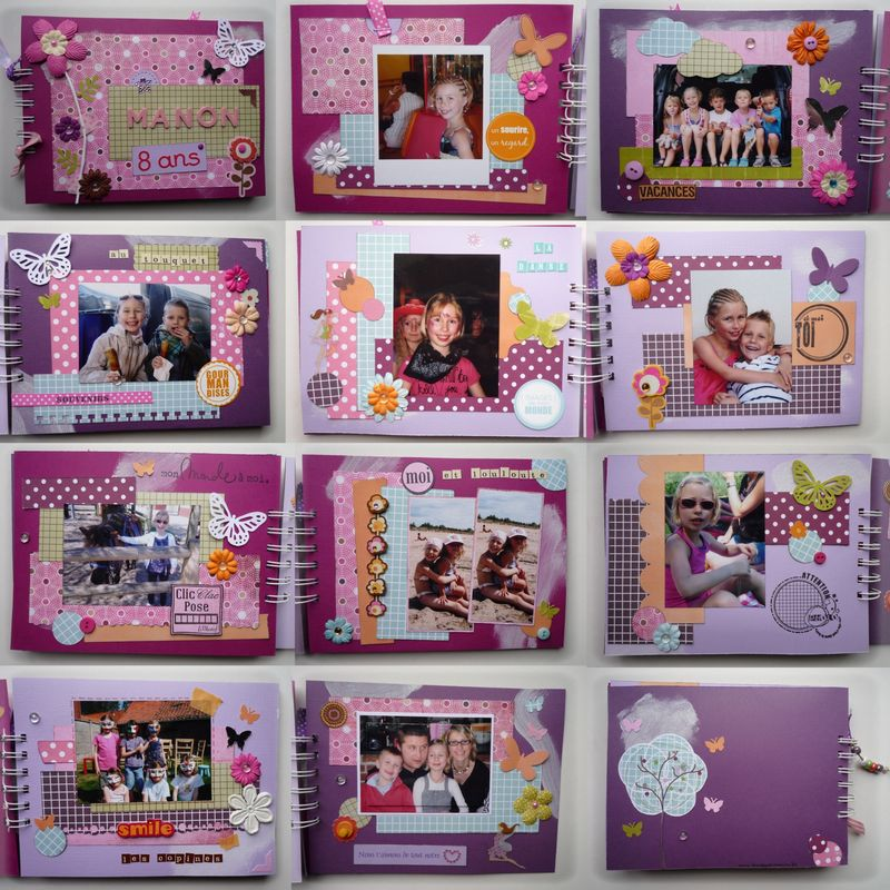 Bien-aimé Album photo - Creation en scrapbooking : album photos, home déco  IN37