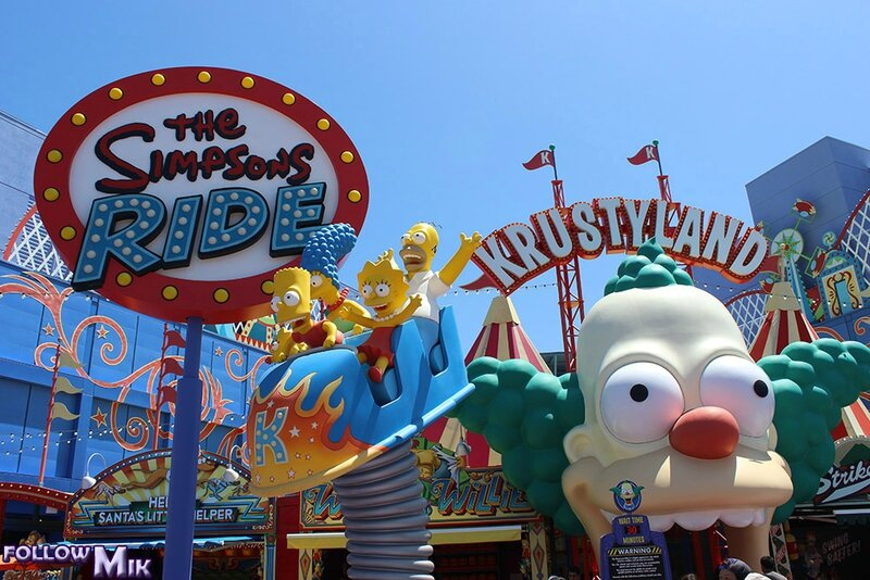 015 - The Simpsons Ride