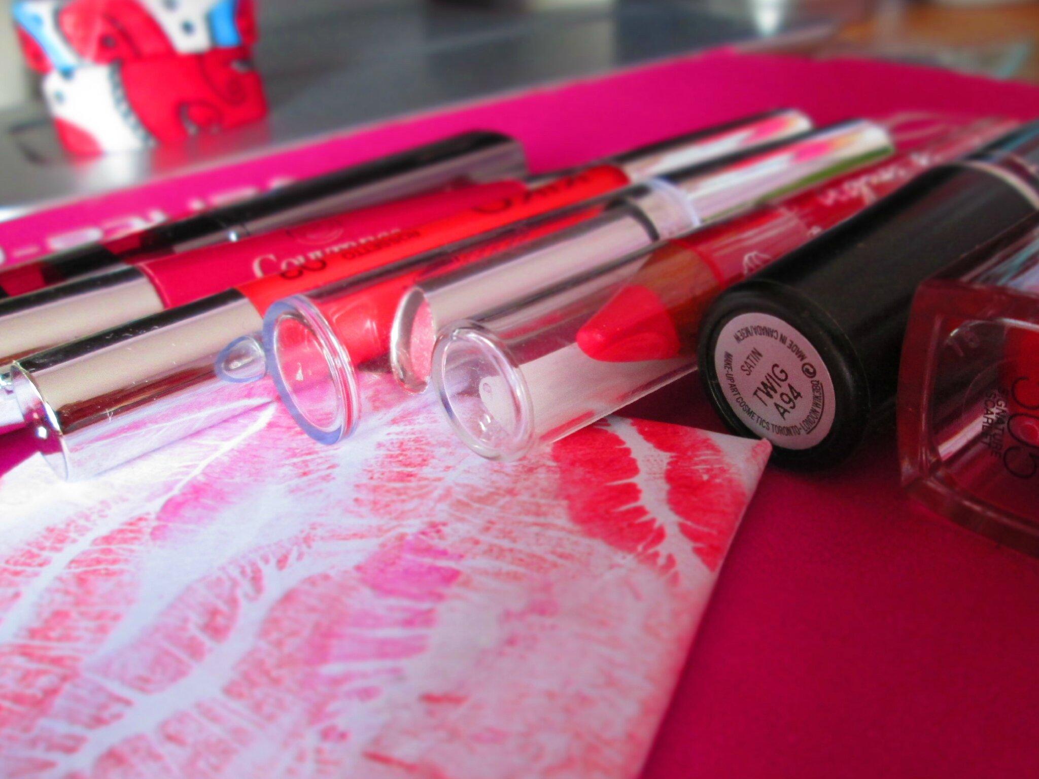 Cartes-enveloppes origami DIY & toile lipstick - Chadik - photo#43