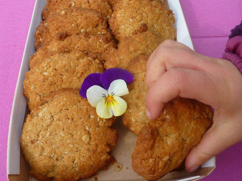 Cookies coco-cannelle