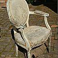 Un fauteuil en bien piteux état…un avant/après