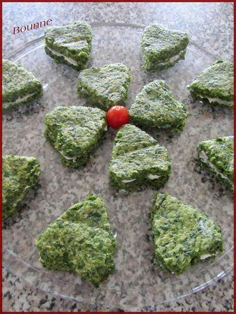 Bouchée coeur aux épinard (2)