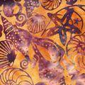 batik ocre et violet 01