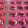 Cookies au chocolat et aux cerises.