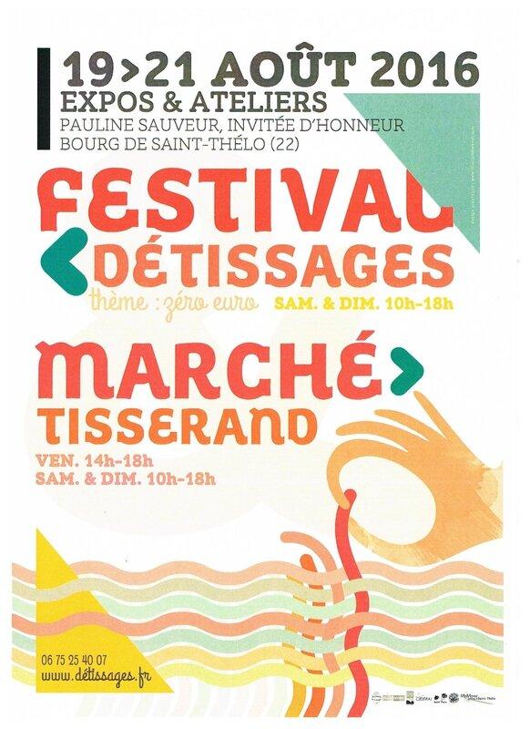 saint thelo (22) Marché des tisserands - Laine du Menez Hom