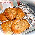 Petits pains au césame