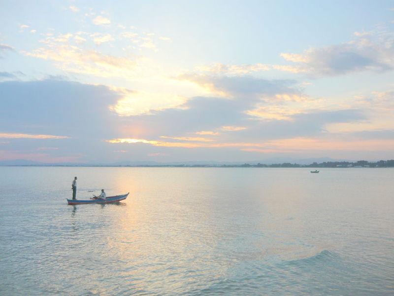 Le coucher de soleil du dimanche 21 septembre 2008