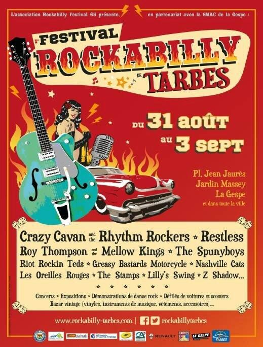 1er Festival Rockabilly Tarbes