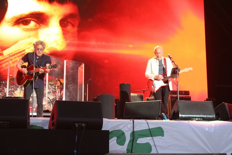 Glastonbury festival J+4 dimanche 28 juin 2015 Pyramid Stage The Who