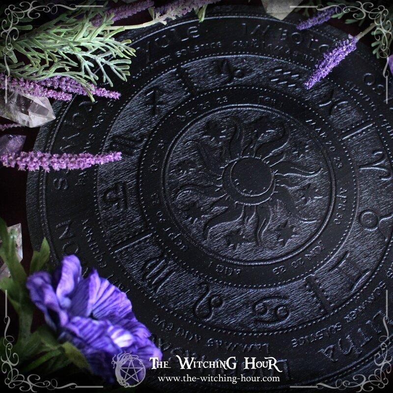Plaque d'autel roue de l'année copie