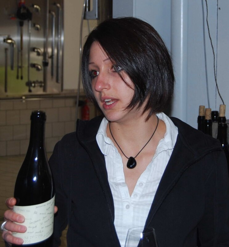 Charlotte Dagueneau (Pouilly-Fum, domaine Didier Dagueneau)