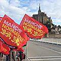 Grand depart du tour de france en normandie... avec le soleil, la pluie et françois hollande!