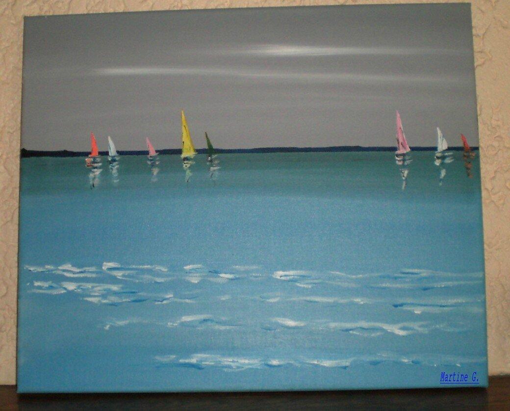 D co tableau peinture bord de mer 38 tableau for Peindre sur de la peinture