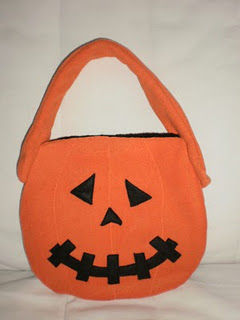 Petit sac potiron Halloween