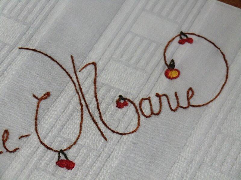 Taies d'oreiller Claire-Marie et Sixtine 005