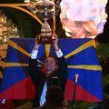 Iba world champ trophy ceremony