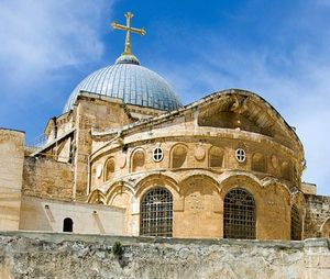 The-Church-of-the-Holy-Sepulchre-in-Jerusalem