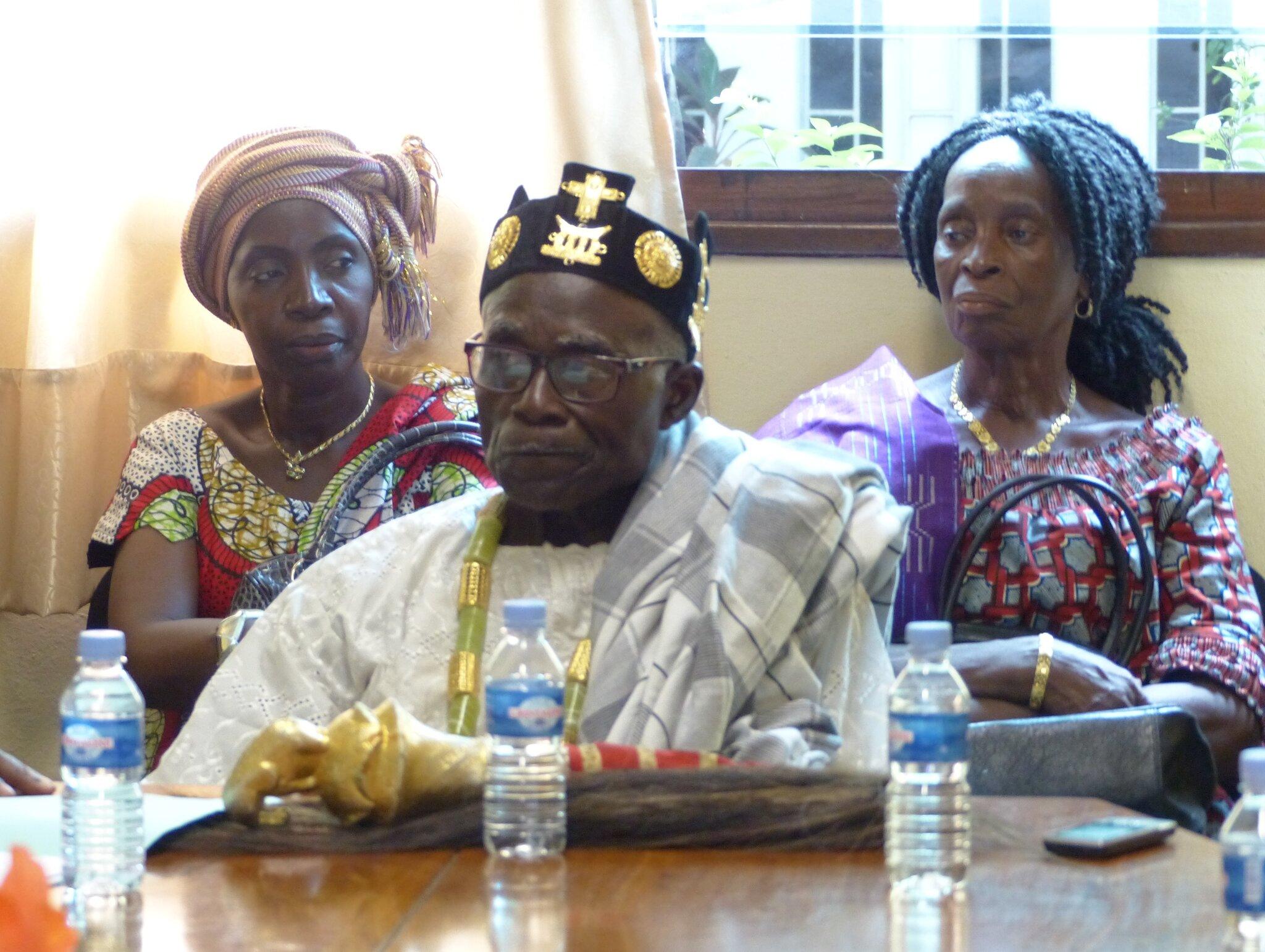 Visite de l'Association des Chefs coutumiers et notables de Côte d'Ivoire