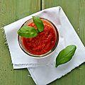Sauce tomate express