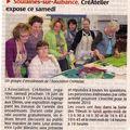 Exposition CréA'telier Soulaines juin 2010