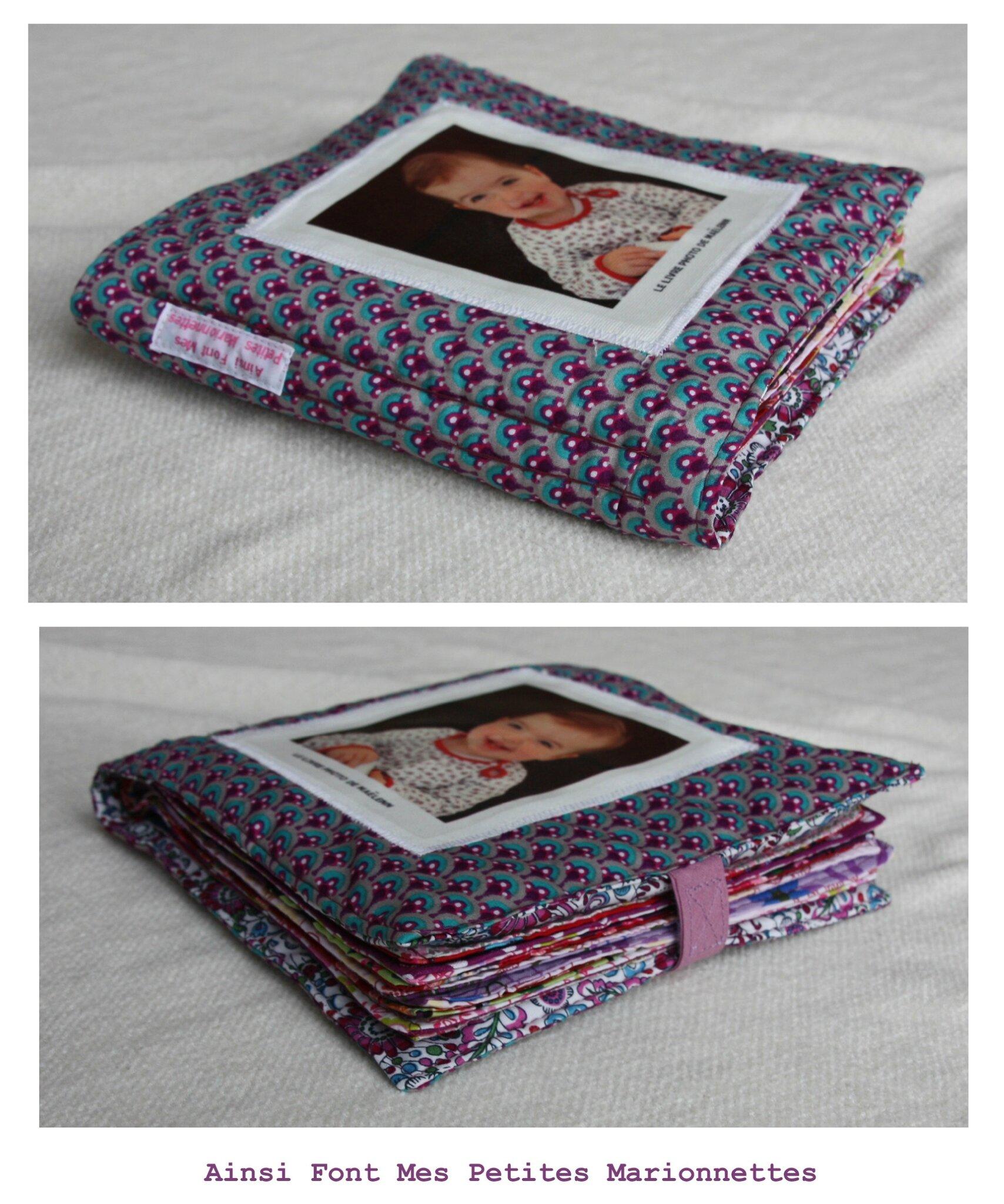 Le livre photo de la choupette ainsi font mes petites for Maison en tissu enfant