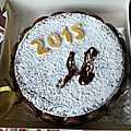 gateau nouvel an 2015