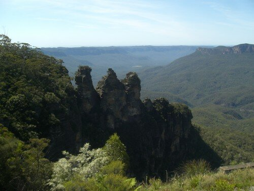 Blue Mountains, the three sisters