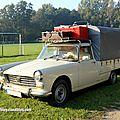 Peugeot 404 pick-up baché (30 ème bourse d'échanges de lipsheim)