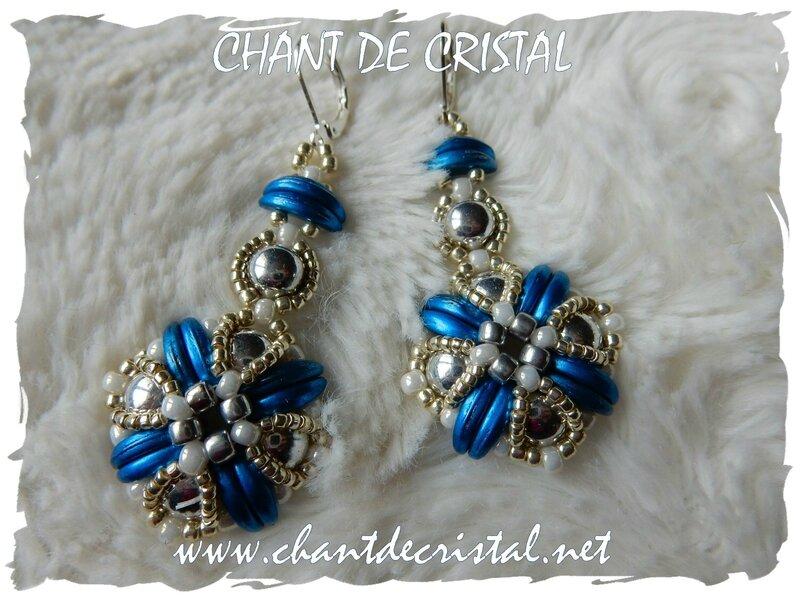 BO Tara Ellad 2 bleu argent