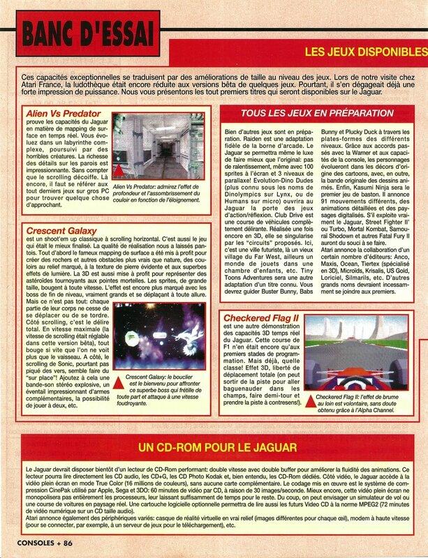 Consoles + 025 - Page 086 (novembre 1993)