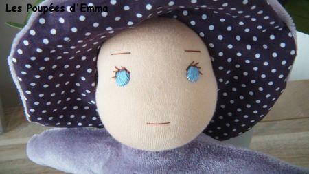 Poupée hochet Lila portrait