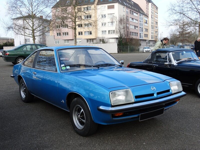 OPEL Manta B S coupé 1976 Strasbourg (1)