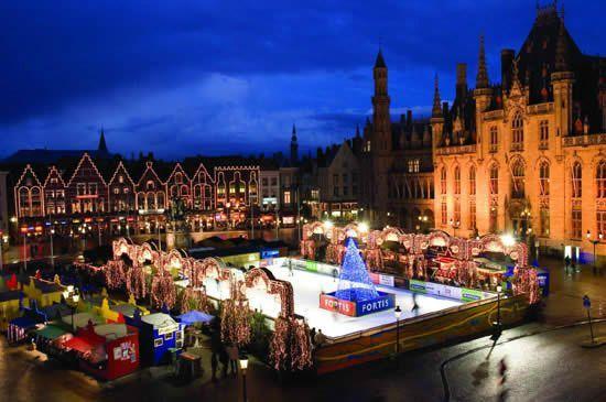 marche-de-noel de Bruges