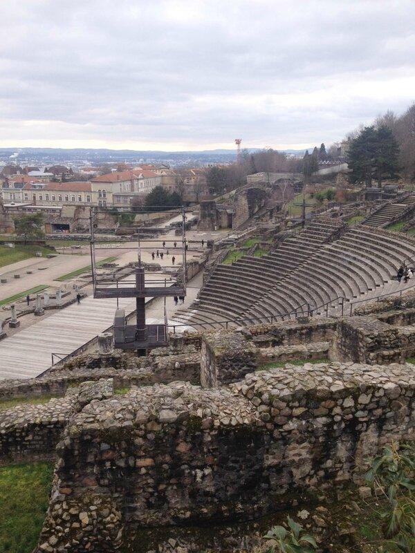 4-Théâtre Antique-Fourvière-Lyon
