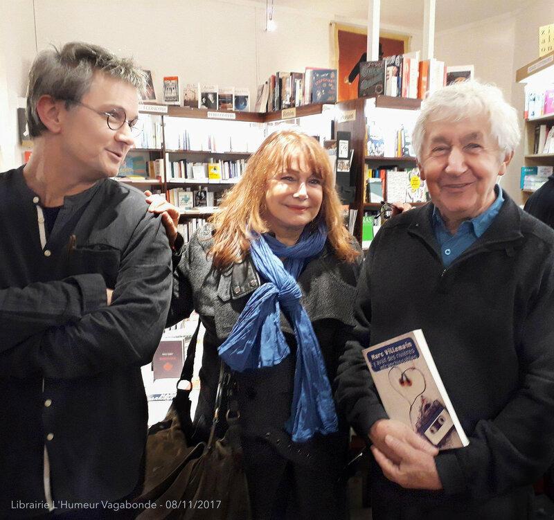 Joëlle Losfeld et Claude Aufaure - Photo : Soraya Désirée Belkhr