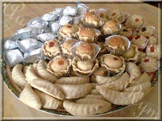 Mes gâteaux pour l'Aïd el Fitr 2008