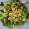 Du blé en salade