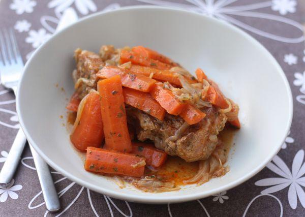 mijoté de veau aux carottes et épices